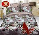 Купить постельное белье с 3д эффектом дешево, Микросатин HL068