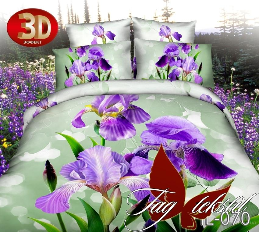 Дешевые комплекты семейного постельного белья, Микросатин HL070