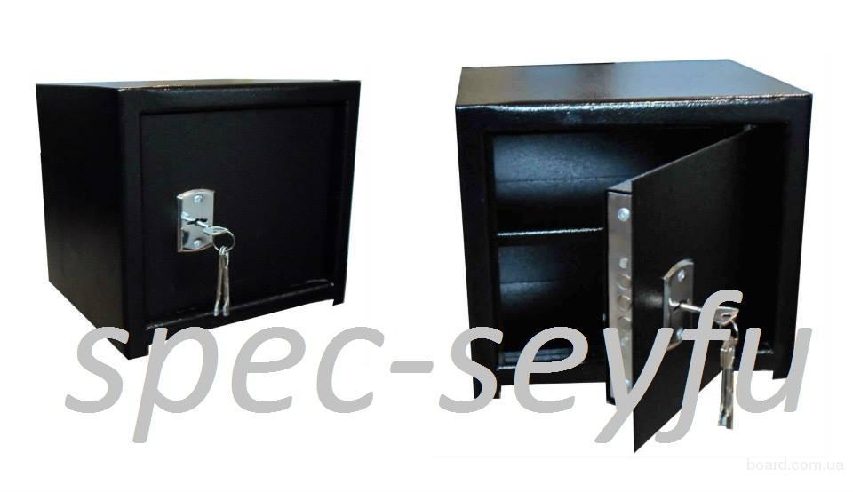 Сейф мебельный с полочкой СМ 250