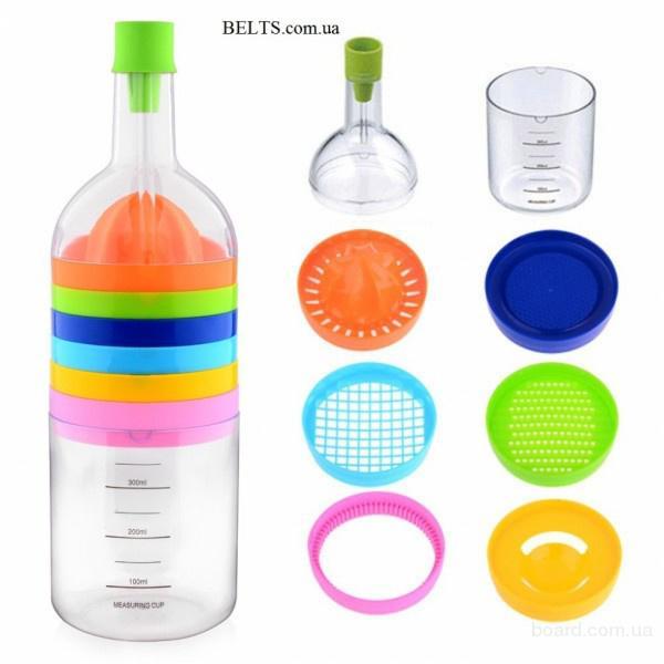 Цина.Чудо бутылка с 8 предметами Bin 8 Tools, кухонная бутылка Бин 8 Тулс