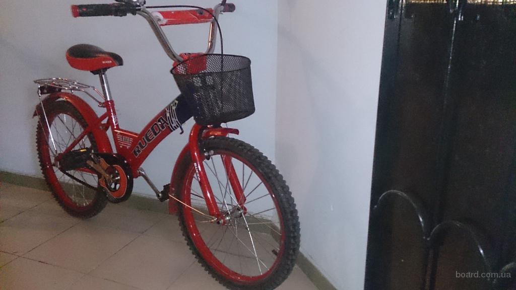 Продам детский велосипед rueda (красный) – 1200грн.
