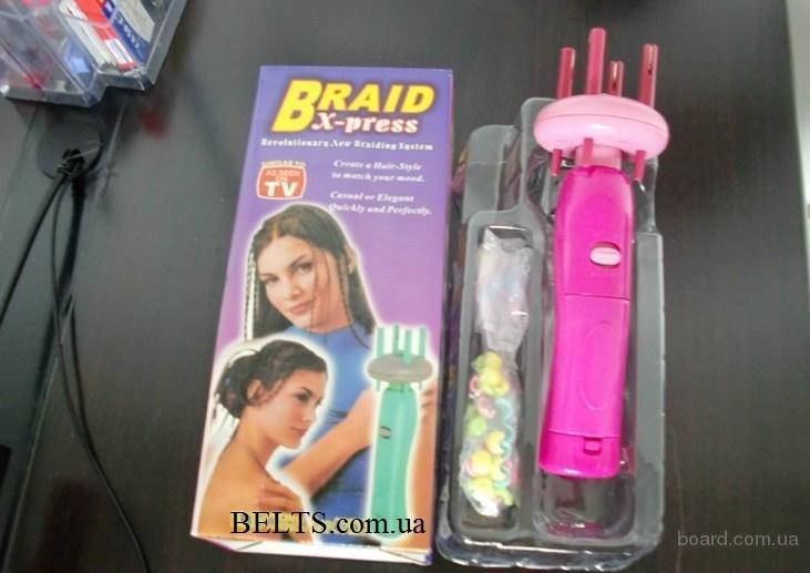 Купить.Прибор для плетения косичек Braid X-Press, Брейд Экспресс