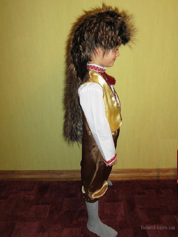 Прокат костюма Ежика на 4-7 лет. Виноградарь