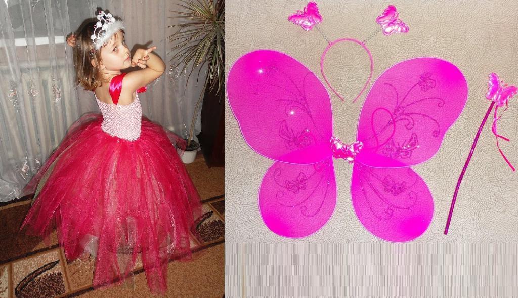 Прокат платья Бабочки, Феи на 4-6 лет