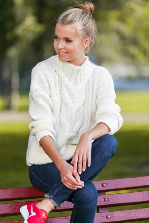 Вязаный свитер женский в интернет магазине Moda Style
