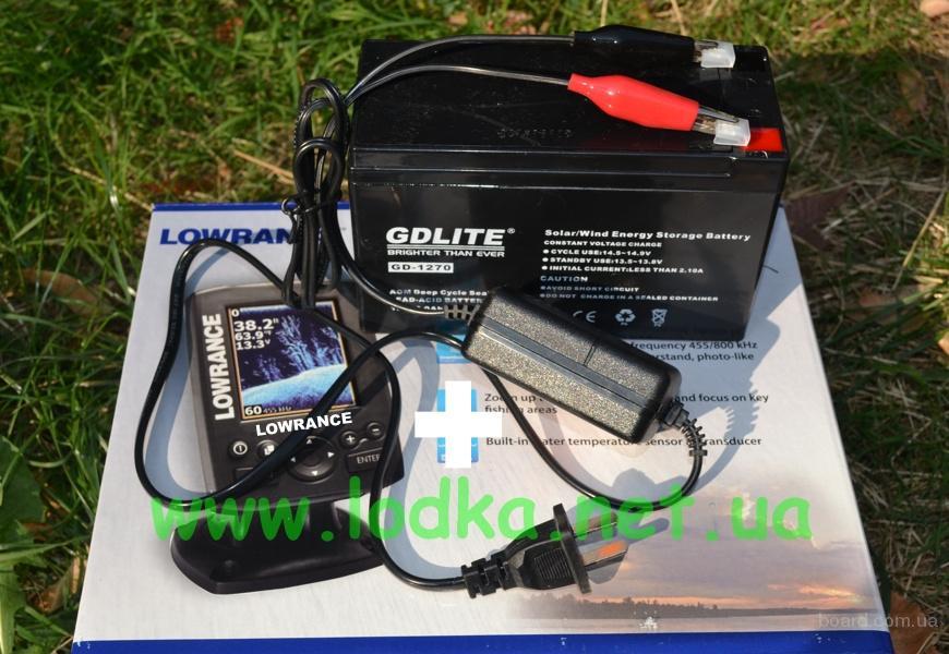 аккумулятор для беспроводного эхолота