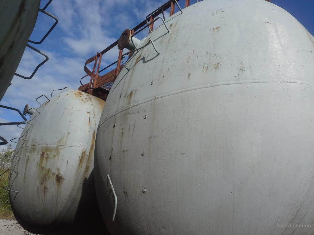 Бочка для хранения жидких удобрений 63 и 73 м.куб