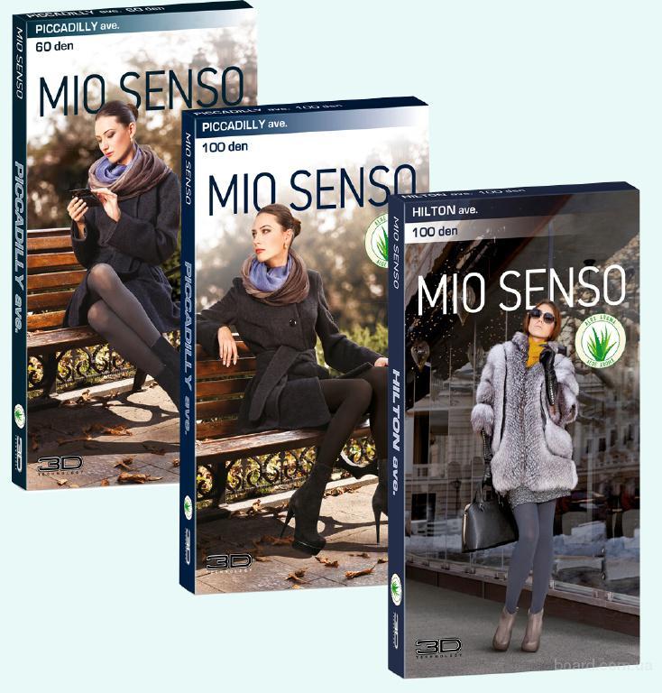 Женские колготки Mio Senso плотностью 60-100 den оптом