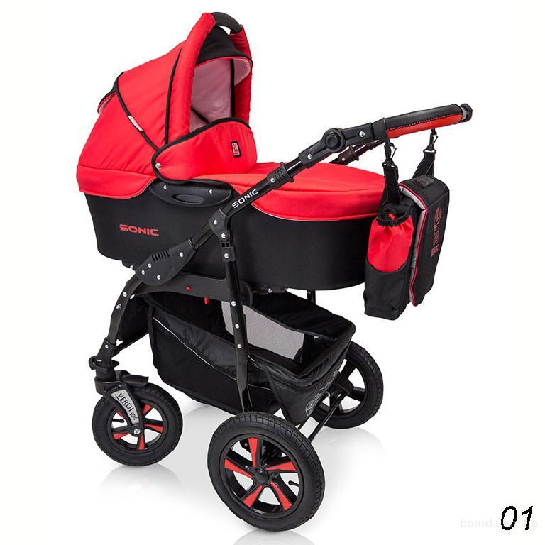 Детская коляска 3 в 1 Verdi Sonic