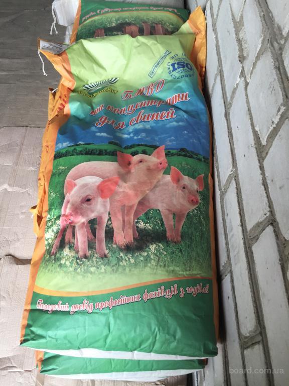 БМВД старт, гровер, финиш для свиней, престартер 100% для поросят, БМВД для свиноматок тм Агрозоосвит