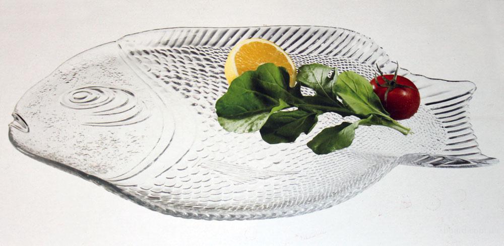 Тарелка Marine для блюда из рыбы