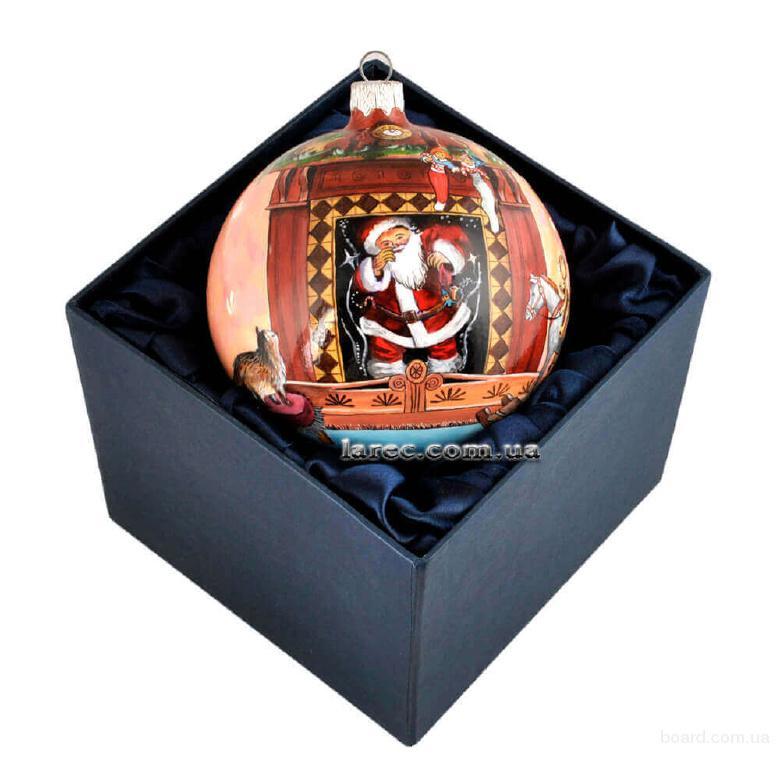Vip – елочный шар Святой Николай купить новогодний подарок в Киеве