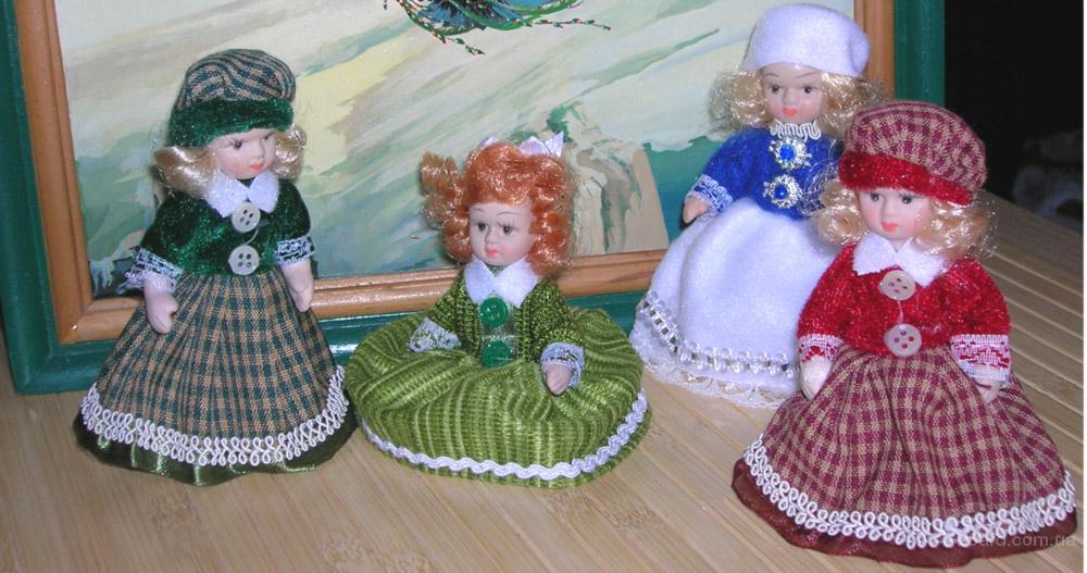 """Фарфоровая кукла """"Дюймовочка"""" - самая маленькая коллекционная кукла"""