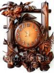 Настенные часы из кожи. Лучший подарок