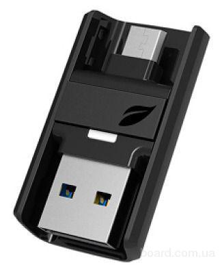 Флеш-накопитель USB 3.0 /MicroUSB Leef Bridge 16Gb