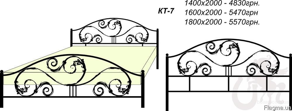 Кованые каркасы для кроватей под заказ