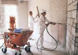 Машинная штукатурка стен и стяжка 150 грн м2 с материалами Киев. 220/380 Вт