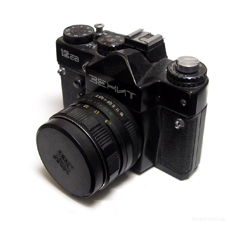 Новый фотоаппарат Зенит 12СД с объективом МС Helios-44М-5