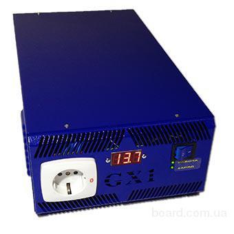 бесперебойник для котла 12В ИБП Форт GX1T - 1/1,35кВт инвертор, преобразователь