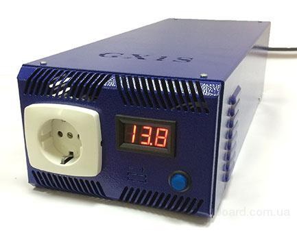 бесперебойник для твердотопливных котлов ИБП Форт GX1S 1кВт-1.35кВт инвертор, преобразователь