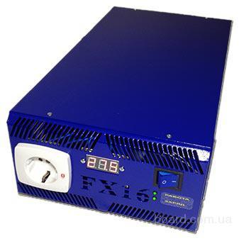бесперебойник 24В ИБП Форт FX16 для котла 1,2/1,7кВт, 2АКБ, инвертор, преобразователь