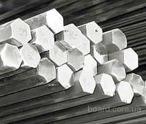 Шестигранник алюминиевый 8х3000 мм