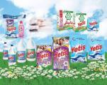 Washing powder and liquid detergent