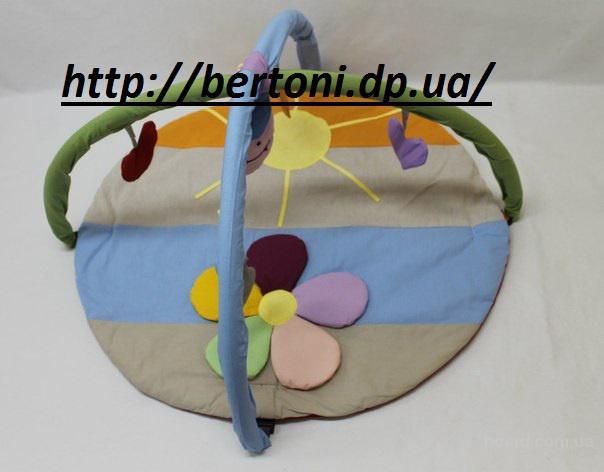 Развивающий коврик Ромашка цветная