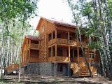 Изготовление деревянных домов в сруб в Одессе.