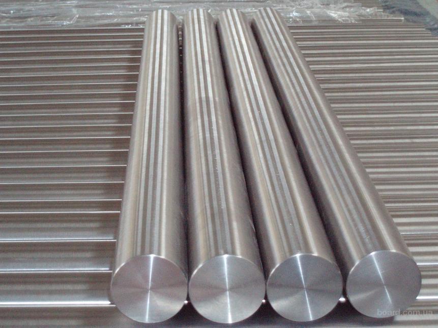 Титановый круг ф55х3000 мм