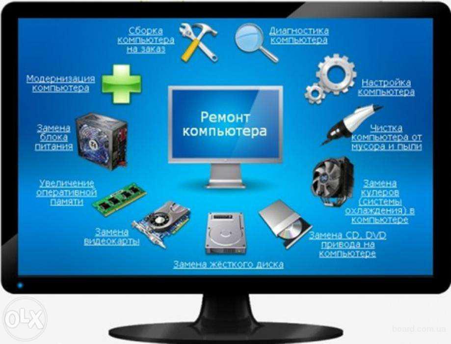 Ремонт компьютеров на дому рф