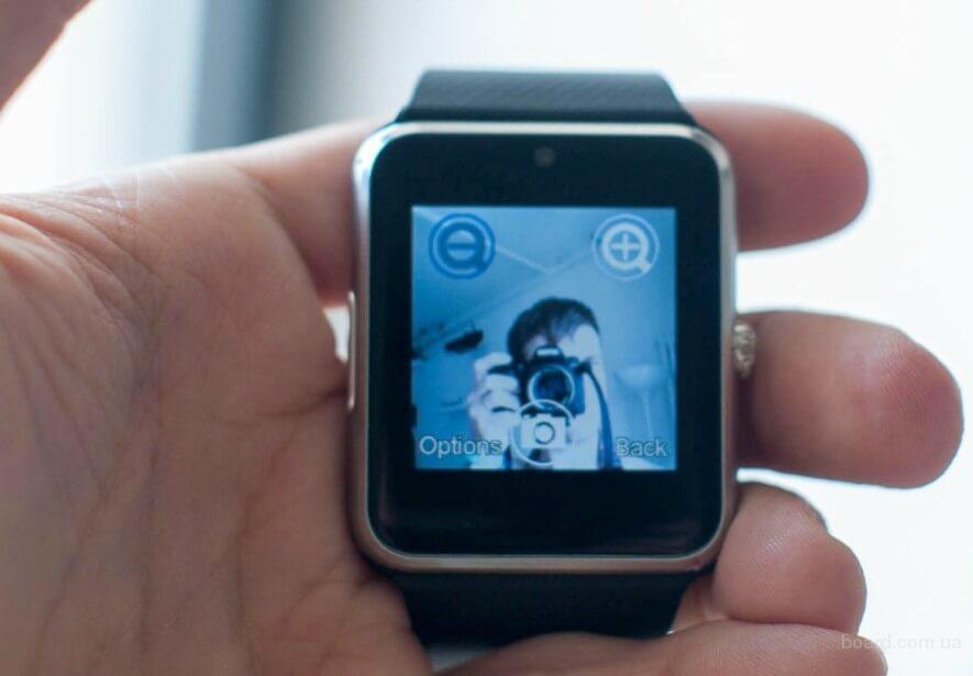 Умные часы GT08 (Часофон, Smart Watch, смарт вотч) +SIM + Русский