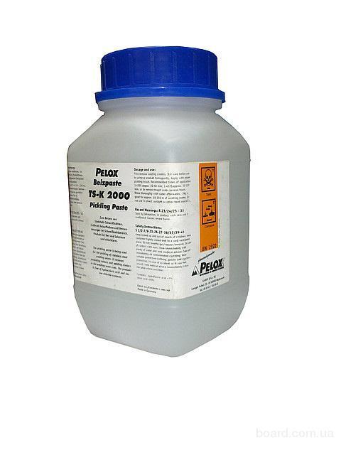Паста травильная TS-K 2000 Pelox для обработки сварного шва и удаления коррозии