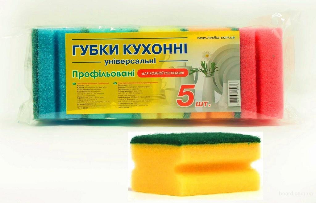 Губки кухонные крупным и мелким оптом