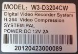 Видеорегистратор dvr Vicsen w3-d3204cw