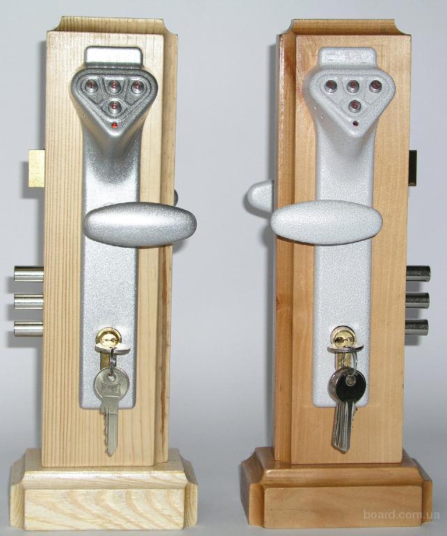 Электронный кодовый дверной замок с сиреной