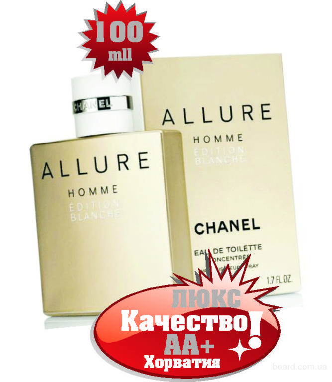 Chanel Allure homme Blanche Люкс качество ААА++ Оплата при получении Ежедневные отправки