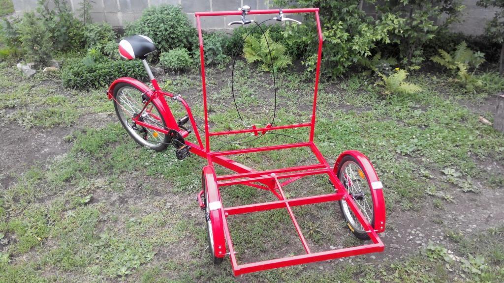 Как сделать трехколесный велосипед своими 156