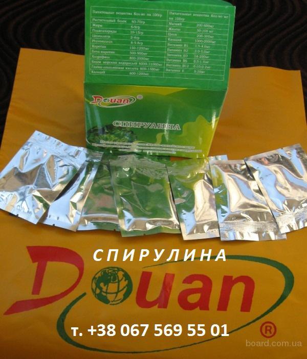 Спирулина Доюань кладезь витаминов и минералов