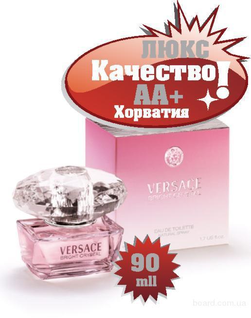 Versace Bright Crystal  розовый качество ААА++ Оплата при получении Ежедневные отправки