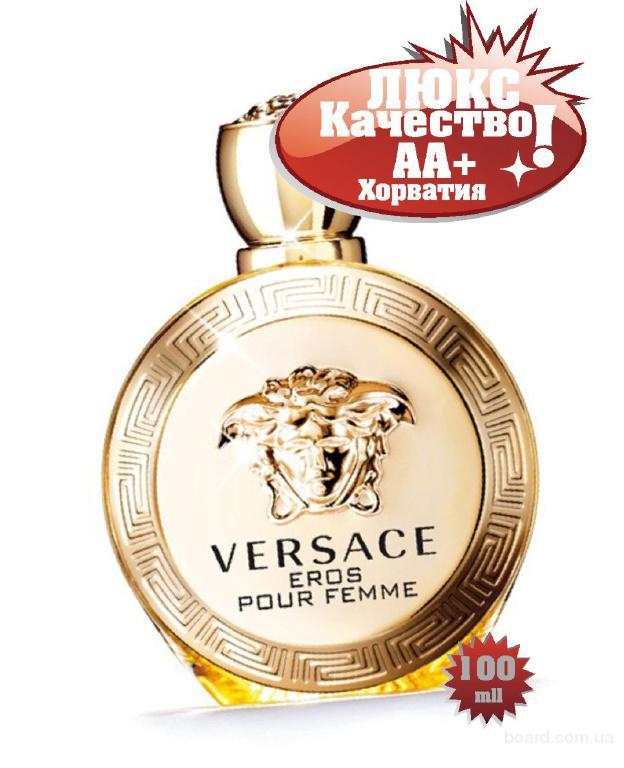 Versace EROS pour femme розовый качество ААА++ Оплата при получении Ежедневные отправки