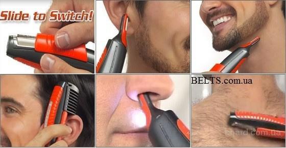 Купить.Триммер Micro Touch Switchblade, машинка для удаления волос Микро Тач Свичблейд