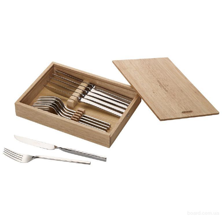 Набор приборов для стейка Villeroy & Boch коллекция New Wave Steakbesteck Set на 6 персон, 12 предметов