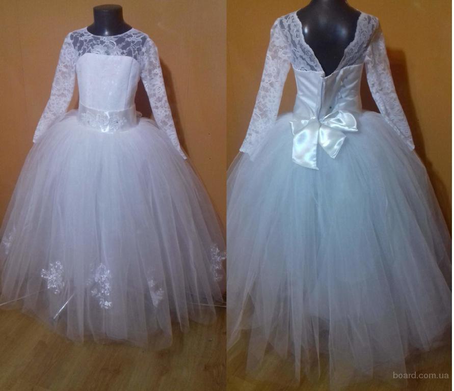 Как сшить бальное платье для девочек 27