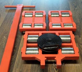 тележка такелажная роликовая для перемещения станков оборудования