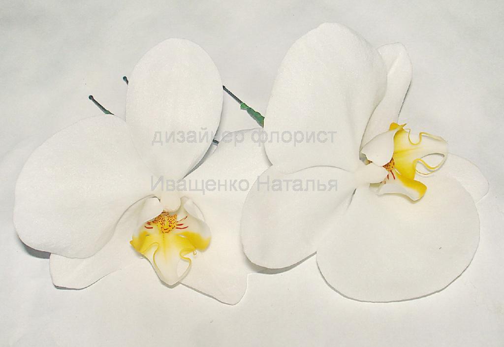Шпильки из живых цветов
