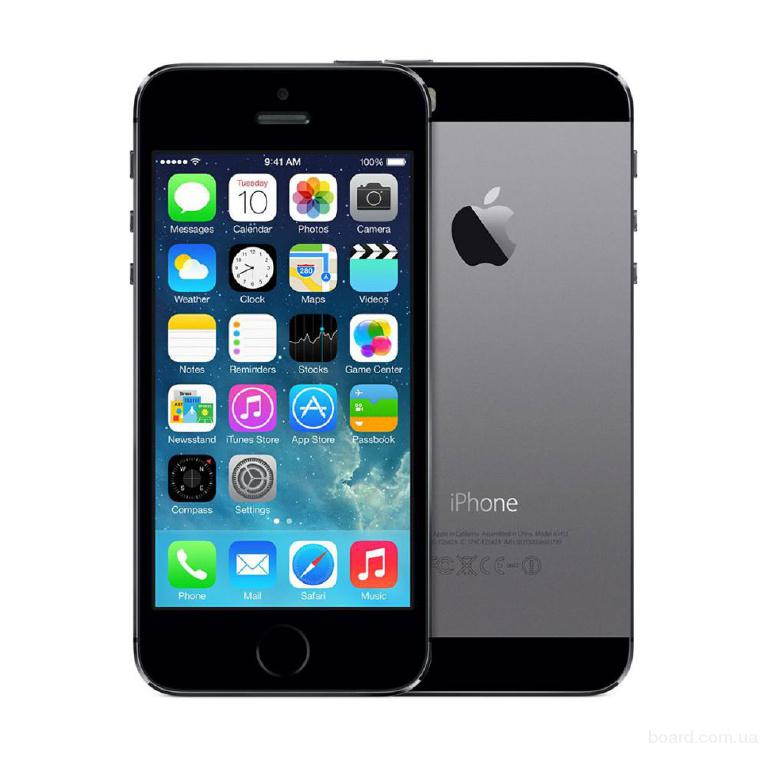 Смартфон Apple iPhone 5S 16Gb Space Gray б.в.