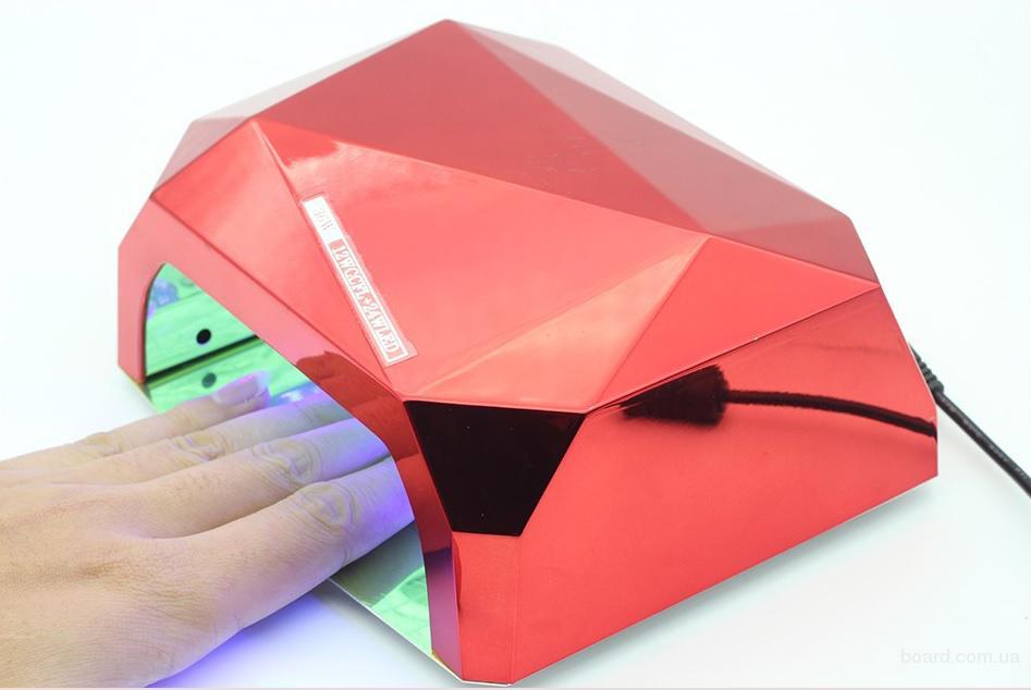 Гибрид LED лампа 36 Вт ультрафиолет УФ для ногтей, гель-лака, наращива