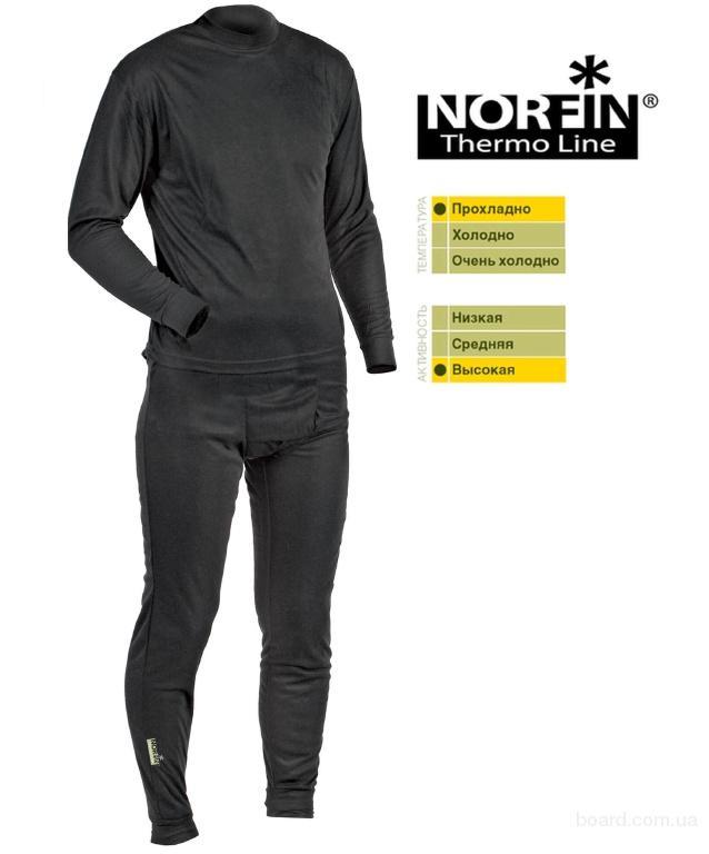 Термобелье Norfin Thermo Line (черное) (300810)