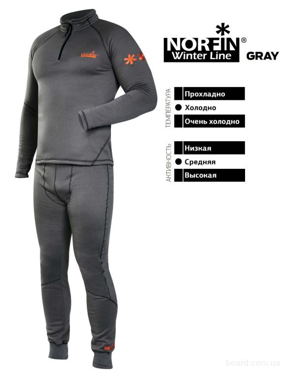 Термобелье Norfin Winter Line Gray (303600)